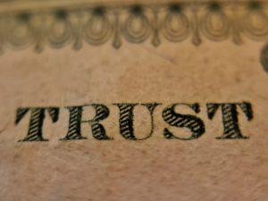 La confiance est l'élément essentiel de tout lien