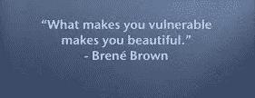 Soyons vrai, soyons vulnérable !